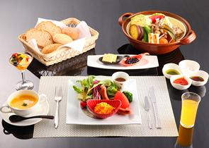 อาหารเช้า (ตะวันตก) 1 ตัวอย่าง